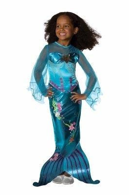 Meerjungfrau Magische Kostüm - Rubies Kostüm magische Meerjungfrau Kinderkostüm Nixe blau Gr. S (3-4 J.)