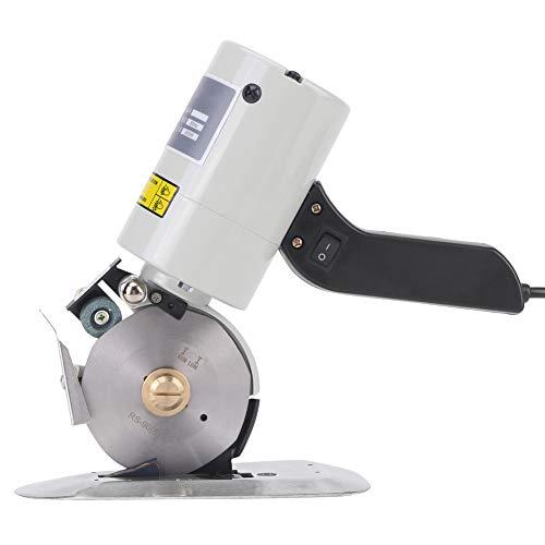 90mm elektrische Stoff-Rollschneider, elektrische Stoffschere runde Messer Cutter, Stoff Schneidemaschine,(EU-Stecker)(EU-Stecker) -