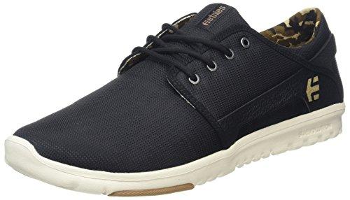 Etnies Scout, Sneakers Basses Homme Noir (Black/camo)