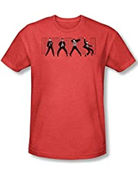 Elvis Presley - Mens Jailhouse Rock T-Shirt In Red