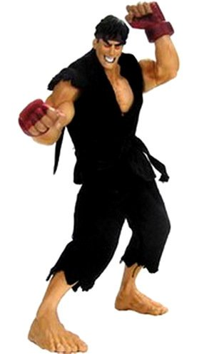 STREET FIGHTER EVIL RYU 25cm PVC figure ltd 2000 by Sota 1