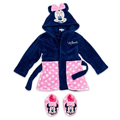 Disney Baby Set Bademantel + Schuhe Mädchen