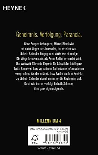 Verschwörung: Millennium 4 - Roman: Alle Infos bei Amazon