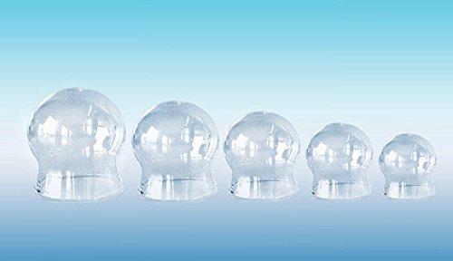 Schröpfgläser ohne Ball - Glas - Ø 4,4 cm