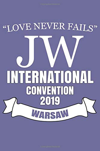 Love Never Fails JW International Convention 2019 Warsaw: JW Gifts International Convention