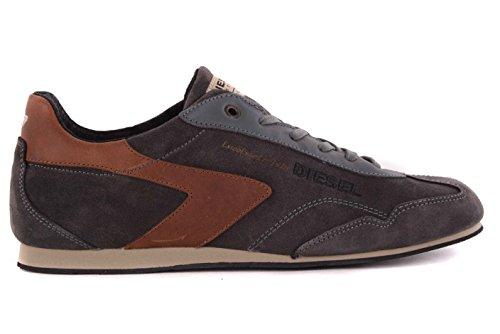 DIESEL - Chaussures A Lacets Hommes Gris