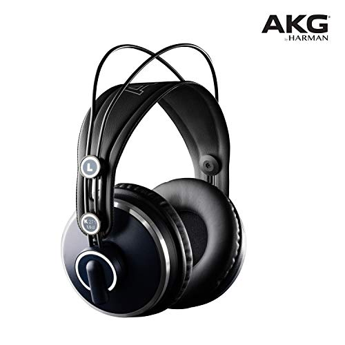 AKG K271 MKII Cuffie da Studio Professionali, Over-Ear, Nero