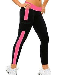 iLoveSIA® Damen Sport leggings Strumpfhose Capri Jogging,S M L XL
