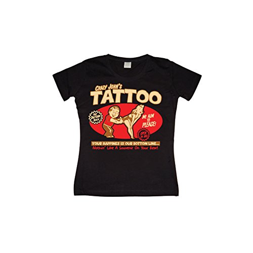 licensed-merchandise-funny-crazy-johns-tattoo-girly-t-shirt-black-xx-large
