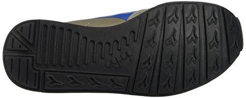 Diadora Camaro, Pompes à plateforme plate mixte adulte Multicolore - Multicolore (C5416 Grigio Cenere/Azzurro Daphne)