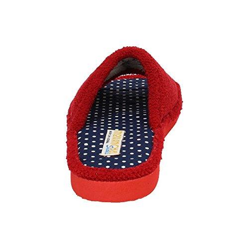 MORANCHEL, Pantofole donna Rosso