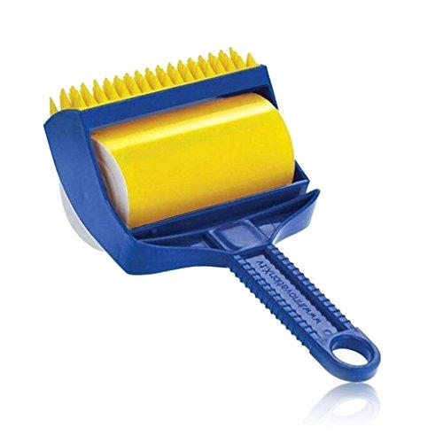 Reinigung Sticky von Fusselroller Pet Haar Entferner Bürste Brilliant Office Home wiederverwendbar Nützliche -