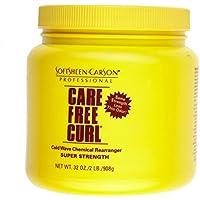 softsheen Care Free Curl Cold Wave Chemical rearranger Super 32oz 908g