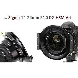 Haida Métal entièrement 150ER série Porte Filtre pour Sigma 12-24mm f4,0DG HSM type-Attention Remarque de