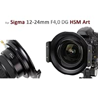 Haida Metal 150ER Serie Soporte de Filtro para Sigma 12–24mm f4.0DG HSM–Consultar Nota. International