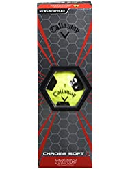 Callaway Chrome Soft X Truvis Bolas De Golf, Unisex Adulto, Verde/Negro, Talla Única
