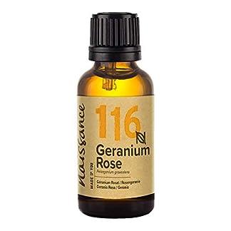 Naissance Aceite Esencial de Geranio 30ml – 100% Puro, vegano y no OGM