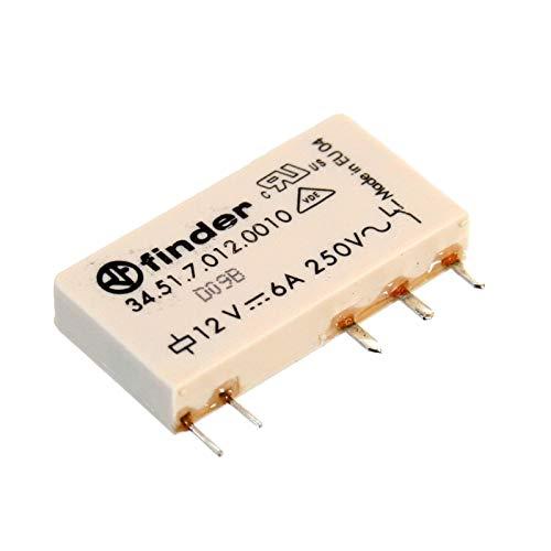 Printrelais 12 V/DC 6 A 1 Wechsler Finder 34.51.7.012.0010 1 St. -