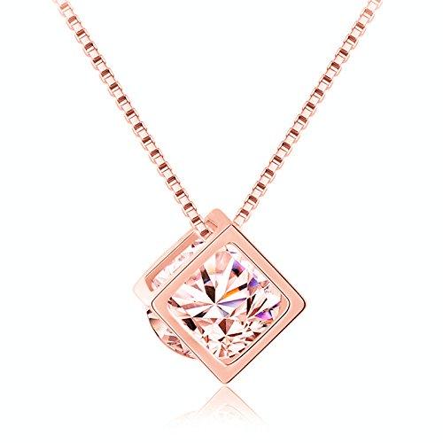 jiaen-oro-rosa-love-cube-zircon-colgante-corto-parrafo-clavicula-cadena-collar-charm