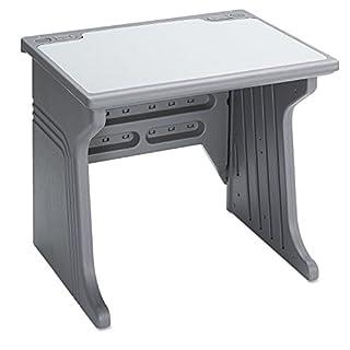 Iceberg ICE92202 Aspira Modular Desk, High-Density Plastic, 34