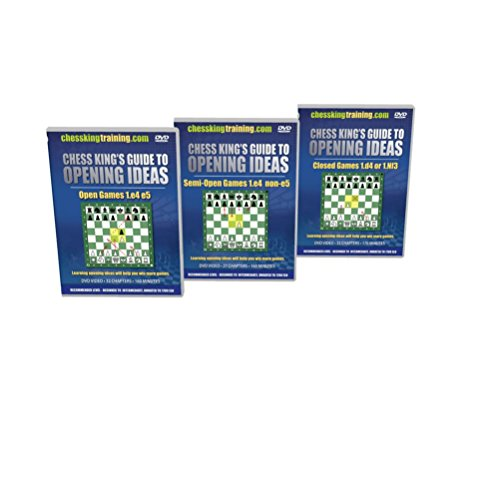 Chess King's Guide to Opening Ideas - 3 DVD Combo (Guide Serie Combo)