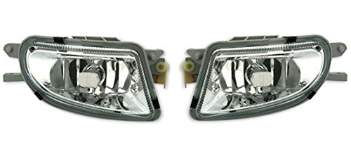 AD Tuning GmbH & Co. KG Nebelscheinwerfer Set, Klarglas Chrom