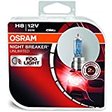 Osram ONBU8-DUO_PL Night Breaker Unlimited Bombilla H8 Duo Box