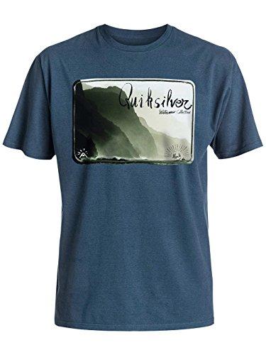 Herren T-Shirt Quiksilver Napali Coast T-Shirt Major Blue