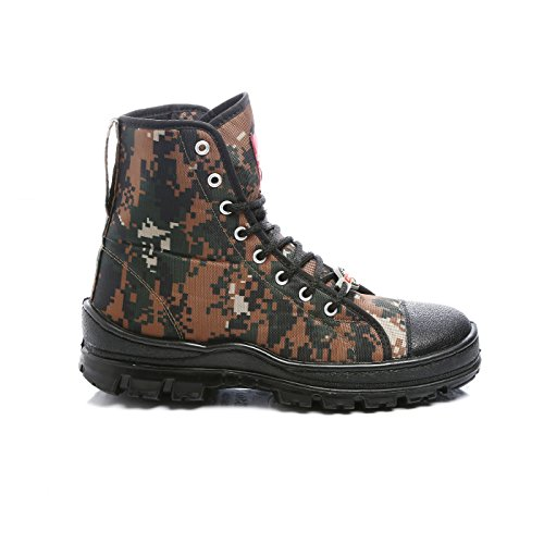 571ac336c443 ... Unistar AntiSkid High Ankel CobraPrint Jungle Boots- Oil Stain   Water  Resistant- Extra Cushion ...
