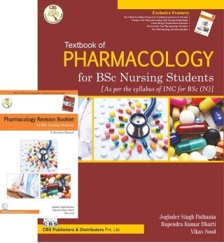 Textbook of Pharmacology for BSc Nursing Students (with Booklet)