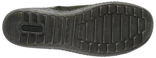 Remonte R1473, Sneakers Hautes Femme Vert (Leaf/Schwarz/Blau-Multi/Leaf / 52)