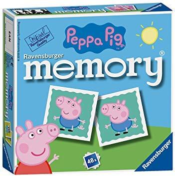 Holland Plastics Peppa Pig Mini Memory Game! Fun & Educational.