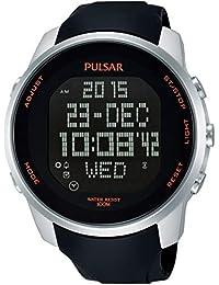 Pulsar PQ2049X1 - Reloj cronógrafo con Alarma para Hombre (Reacondicionado)