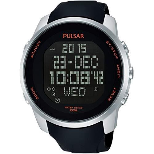 Orologio cronografo da uomo Pulsar Alarm PQ2049X1 (Ricondizionato)