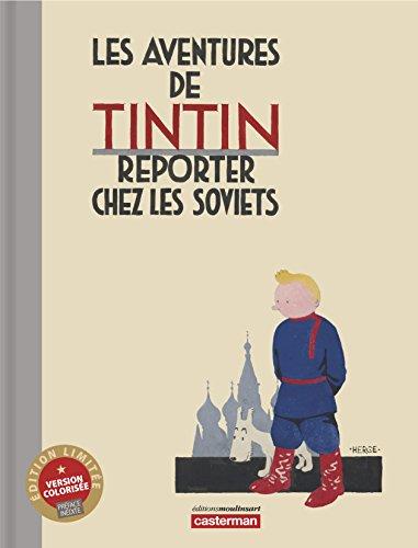 Tintin au Pays des Soviets Couleur Luxe
