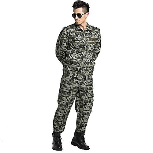 Lilongjiao Automne à Manches Longues Costumes de Camouflage Jungle Camouflage Uniformes Militaires de Formation en Plein air vêtements de Formation de développement Camp d'été de Formation