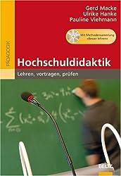 Hochschuldidaktik: Lehren, vortragen, prüfen. Mit Methodensammlung »Besser Lehren« auf CD-ROM (Beltz Pädagogik)