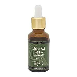 mandelic acid Glycolic combo peel Acne Act gel peel peel for Acne inflammation and hyperpigmentation