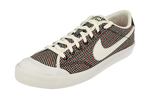 Nike Zoom All Court 2 Low Kjcrd Herren 867117 Sneakers Turnschuhe (UK 6 US 6.5 EU 39, Black White Action Red 001)
