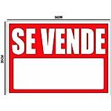 Cartel Se vende 50x35cm | Cartel Publicitario Se vende | Señal de Se vende | Cartel Oportunidad Se vende | Fabricado en Lona con 4 ojales en cada esquina