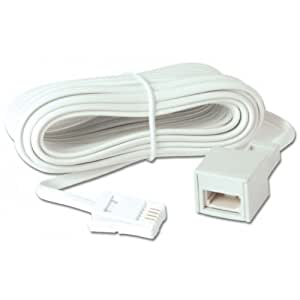 lindy telephone extension cable 10m electronics. Black Bedroom Furniture Sets. Home Design Ideas