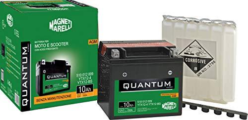 Batteria moto scooter 10Ah 12V 150A tecnologia AGM Quantum