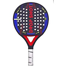 DROP SHOT Vanguard 1.0 Pala Pádel, Unisex Adulto, Negro, ...