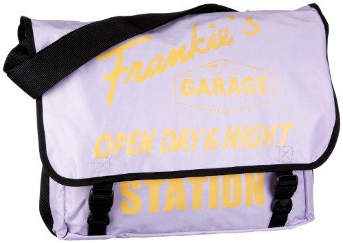 Frankie's Garage Messenger Bag Nylon T20980952-091-072 Unisex-Erwachsene Messengertaschen 36x31x12 cm (B x H x T), Violett (lightpurple-mais 091-072) (Violett 091)