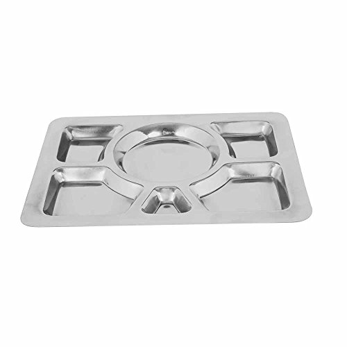 kosma-stainless-steel-compartment-tray-serving-tray-platter-serving-platter-mess-tray-40x29-cm