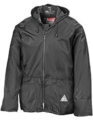 REGEN-ANZUG (Regenset bestehend aus Jacke und Hose), absolut wasserdicht, Farbe schwarz, lieferbar von Gr. S - XXL