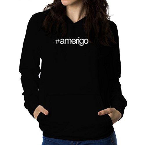 Felpe con cappuccio da donna Hashtag Amerigo