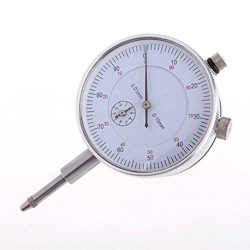 Preisvergleich Produktbild Messbereich 0-10 mm Precision Außen Metrisches Test Messuhr Anzeige Uhr 0, 01 mm Genauigkeit Genaue Messung Instrument