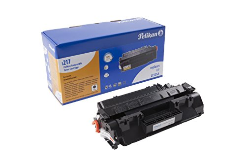 Pelikan Toner 4283924 ersetzt HP CE505A und Canon CRG719-BK (für Drucker HP LaserJet P2035, P2055, Canon CRG119, CRG319, CRG719, Canon i-SENYS, imageCLASS, Canon Laser Shot) schwarz (P2035 Drucker Laserjet)