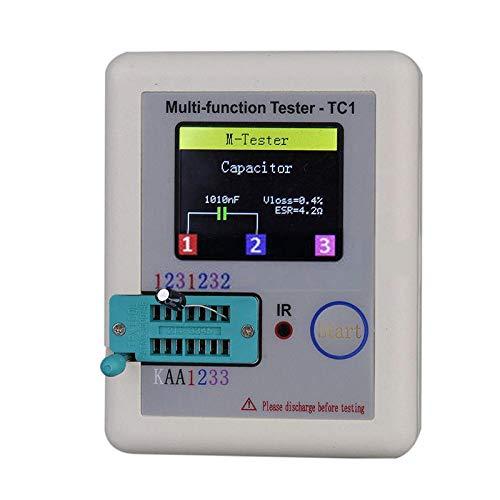 Alftek Pocketable-Multifunktions-Transistor-Prüfvorrichtung LCR - farbenreiche Grafik-Anzeige TC1 (Grafik-multimeter)
